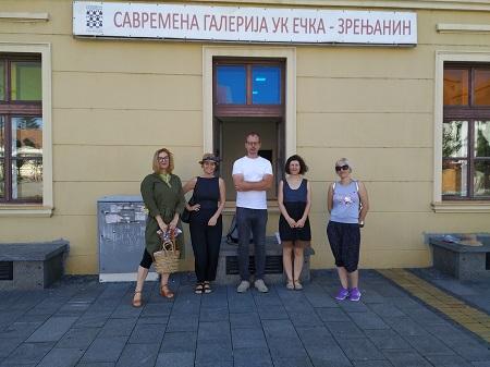 Savremena galerija Zrenjanin  65. saziv Umetničke kolonije Ečka - Slika 2020.