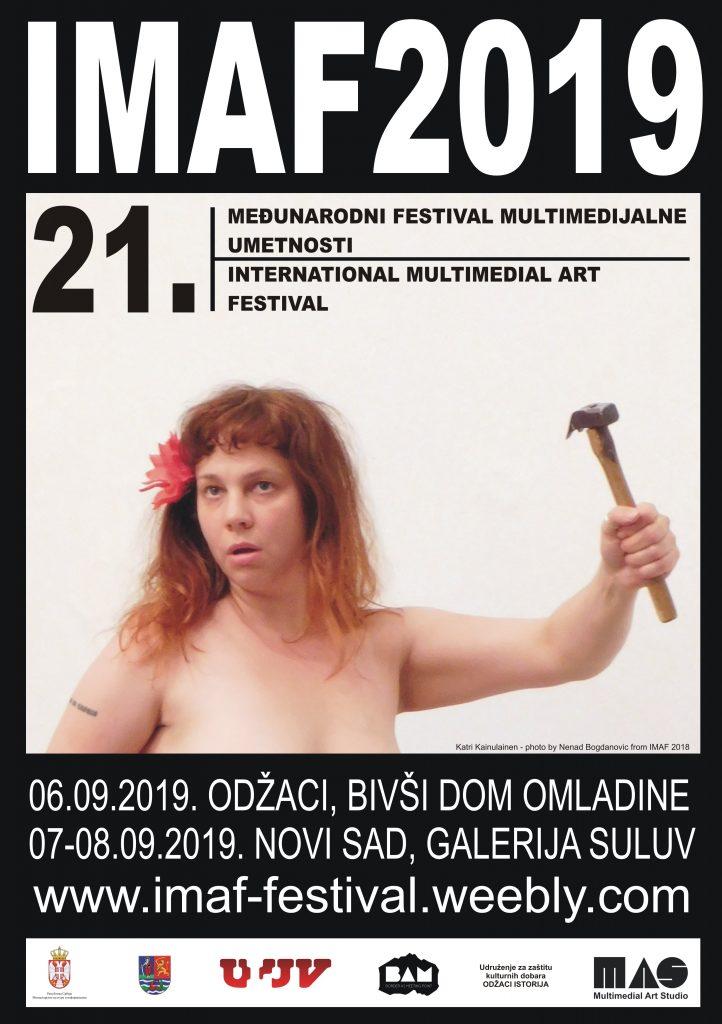 21. Međunarodni festival multimedijalne umetnosti - IMAF 2019