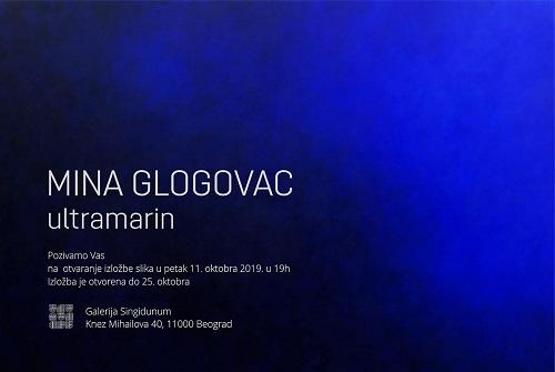 Mina Glogovac-Ultramarin Galerija SINGIDUNUM