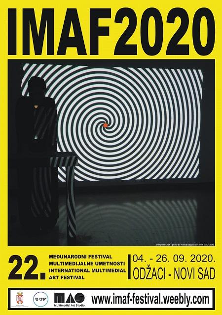 22. Međunarodni festival multimedijalne umetnosti - IMAF 2020