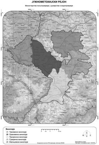 3.2. Južnometohijski rejon - Južna Metohija