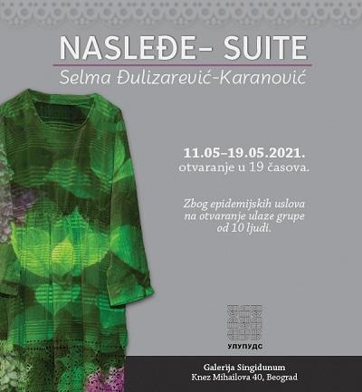 Galerija Singidunum - Nasleđe-Selma Đulizarević- Karanović